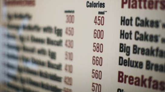 Calorie Counts Coming to a Restaurant Near You