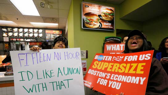 Protesters Rekindle Minimum Wage Fight in 190 Cities