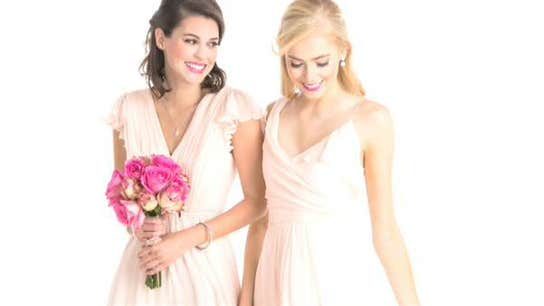 Elevator Pitch: Affordable Bridesmaid Rentals