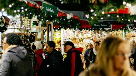 Small Businesses Get a Big Stage at NYC's Holiday Markets