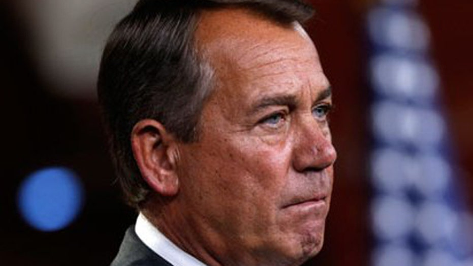 Is John Boehner about to lose his speaker post?