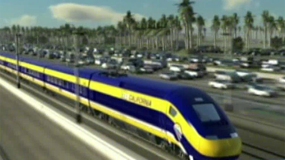 Groundbreaking today for CA's controversial bullet train