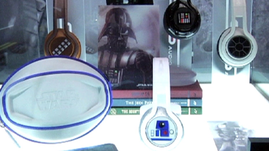 '50 Cent' newest headphone line features Star Wars theme.
