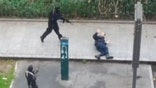 Warning graphic: Gunmen execute Paris police officer