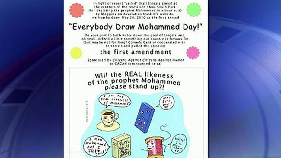 Cartoonist on Al Qaeda on hit list in hiding