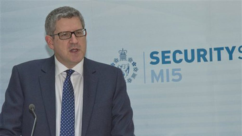 Warning about future attacks from Britain's MI5