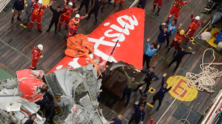 AirAsia tail section recovered, no sign of black box
