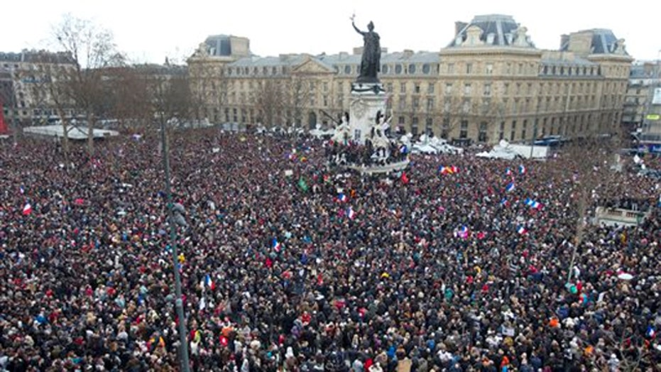 One million strong gather at anti-terrorism rally in France
