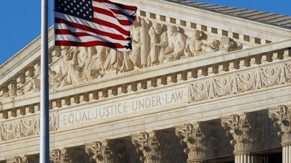 Supreme Court hears religious rights case over church signs