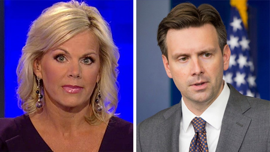 Gretchen's take: It's 'Hate to be Josh Earnest Day'
