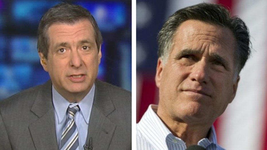 Kurtz: Mitt Romney again - really?