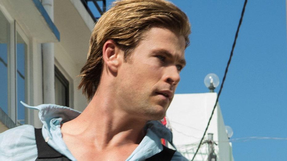 Chris Hemsworth goes back to school for 'Blackhat'
