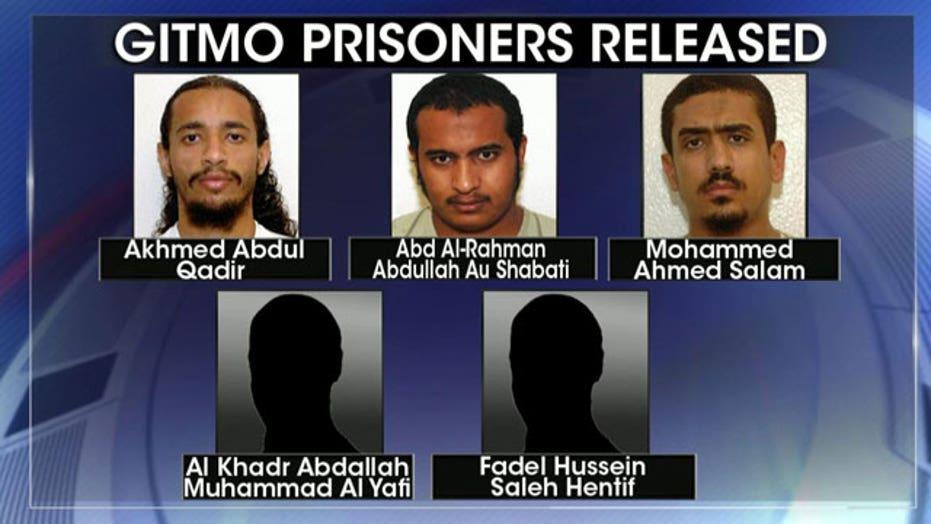 Five Gitmo Detainees Being Transferred To Oman Estonia