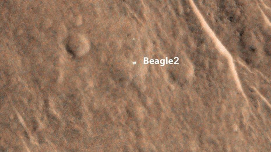 Missing Mars lander found
