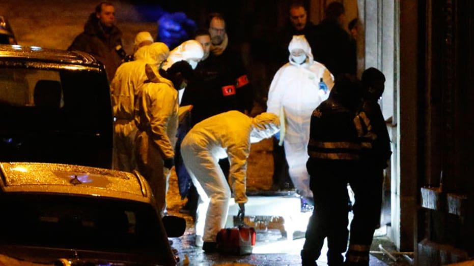 Anti-terror raids target European sleeper cells