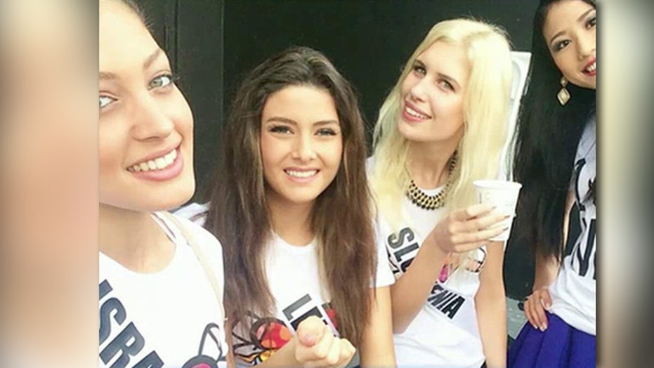 Oh snap! Selfie sparks Miss Universe controversy