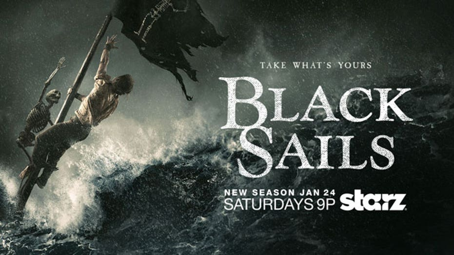 Toby Stephens and Hannah New From Starz's 'Black Sails'