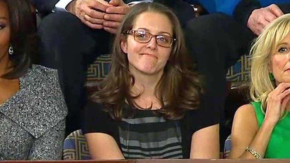 President touts Rebekah Erler's story in State of the Union