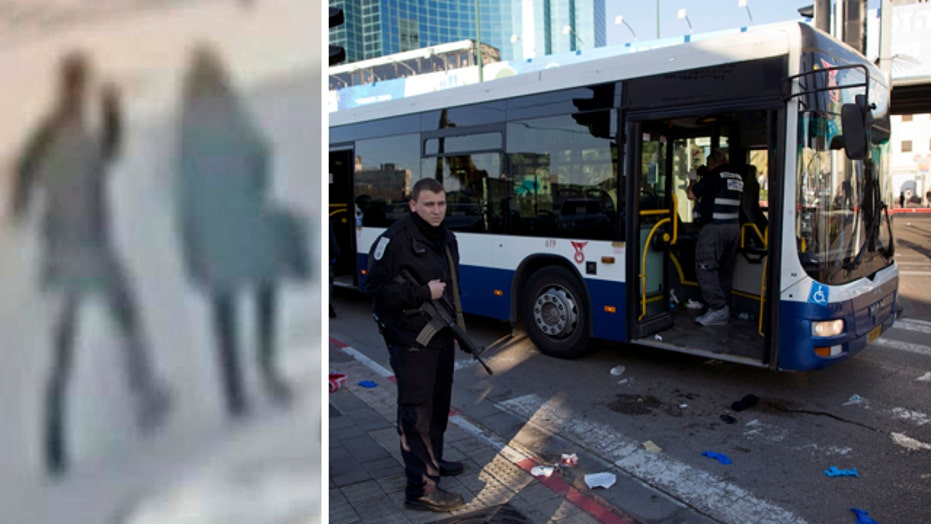 Palestinian man goes on stabbing rampage on Tel Aviv bus