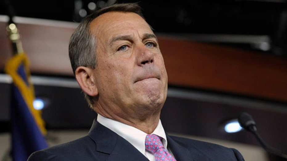 Boehner thumbs nose at WH in Netanyahu invite