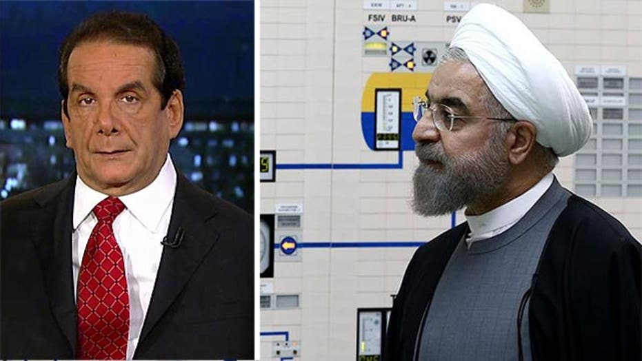 Krauthammer on Iran sanctions
