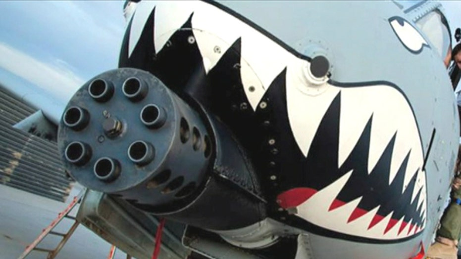 Legendary A-10 'Warthog' successful weapon against ISIS