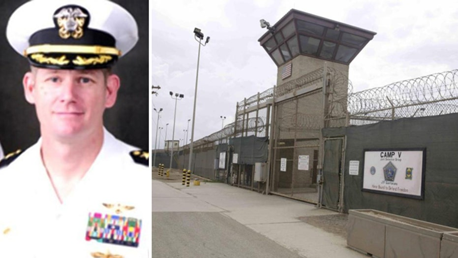 Gitmo commander fired amid investigation of man's death