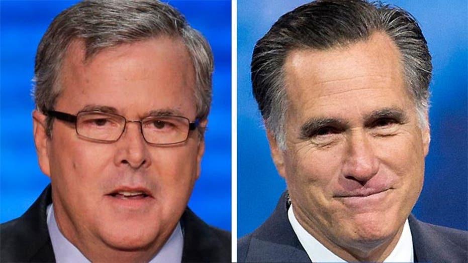 Jeb Bush, Mitt Romney meet as both weigh 2016 run
