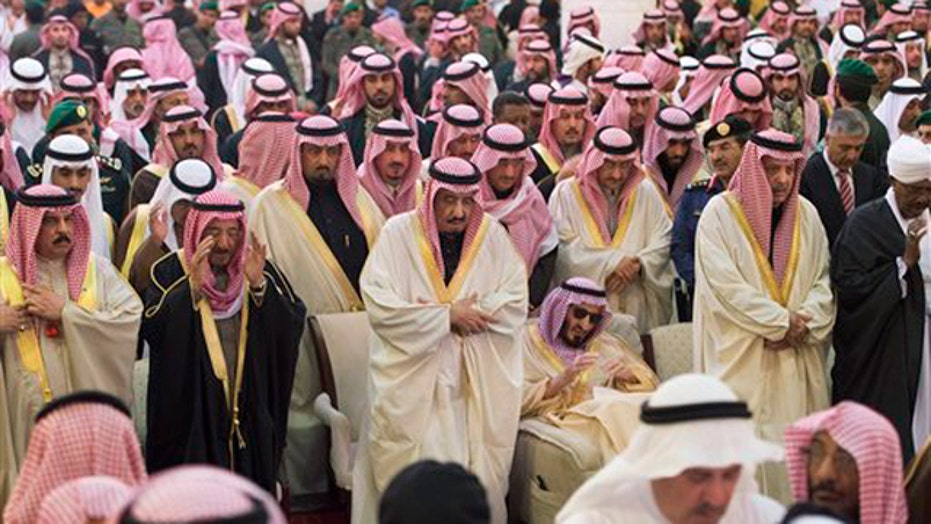 New Saudi king promises to continue brother's policies