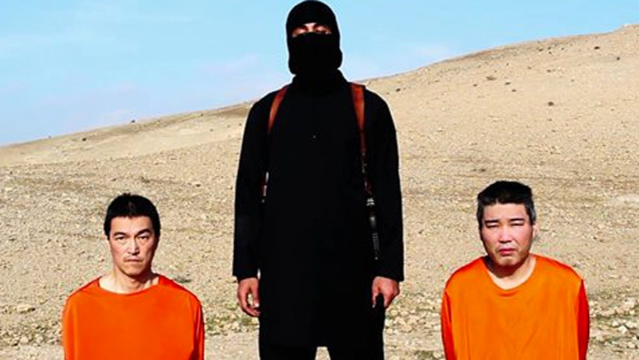 Video claims ISIS has killed one of two Japanese hostages