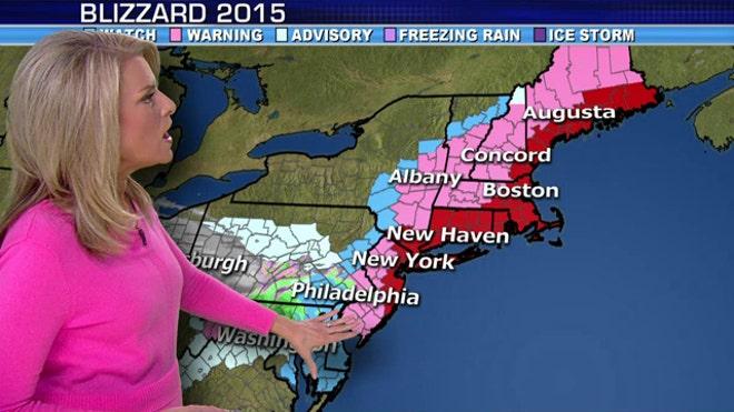 Meteorologist Janice Dean reports on storm