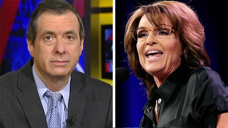 Kurtz: Why Sarah Palin doesn't seem 'serious'