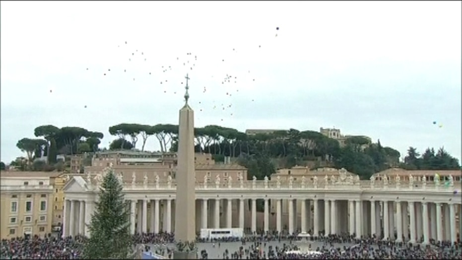 Vatican makes balloons new peace symbol replacing doves