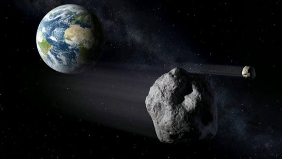Mountain-sized asteroid to zoom past Earth