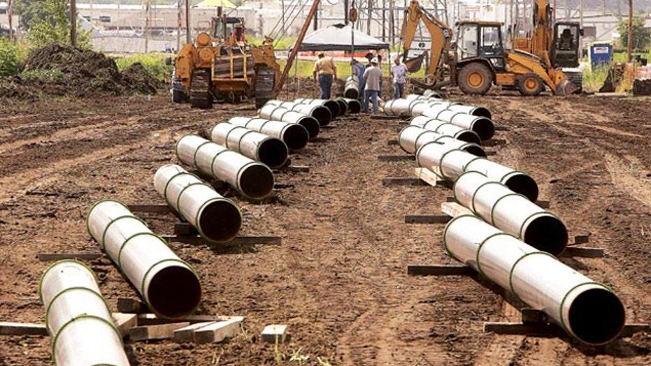Keystone pipeline bill stalls in Senate, debate drags on