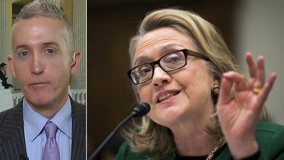 Gowdy wants State Dept. docs provided for Clinton testimony