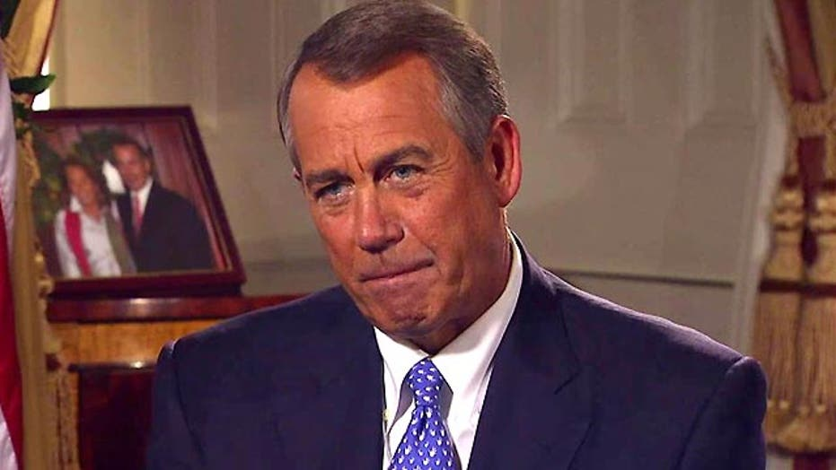 Boehner: Obama's policies are not working