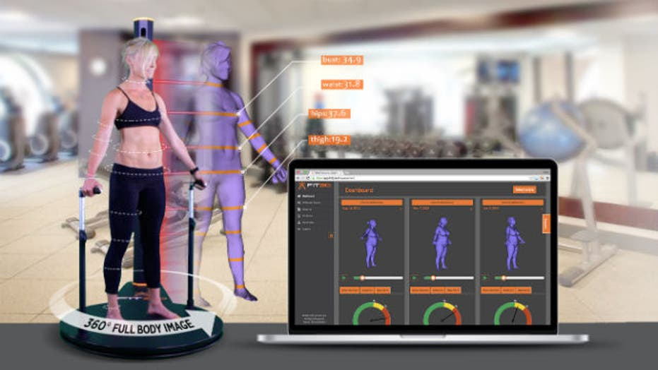 3D look at weight loss progress
