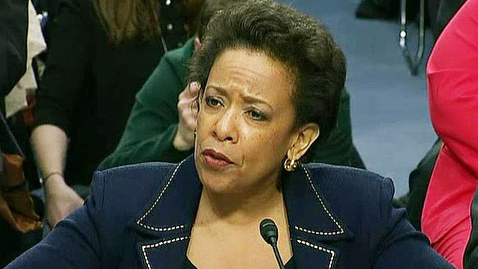 Loretta Lynch works to differentiate herself from Holder