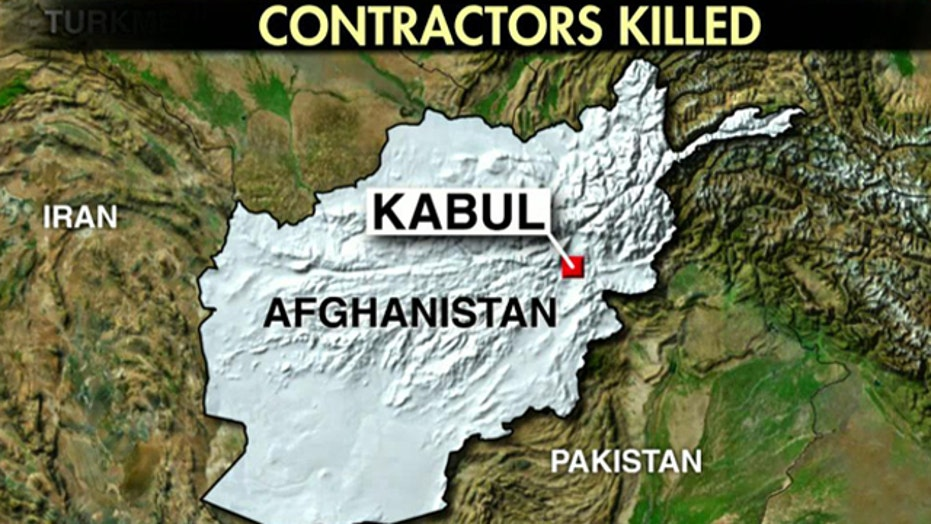 Official: 3 US contractors killed in Afghanistan attack