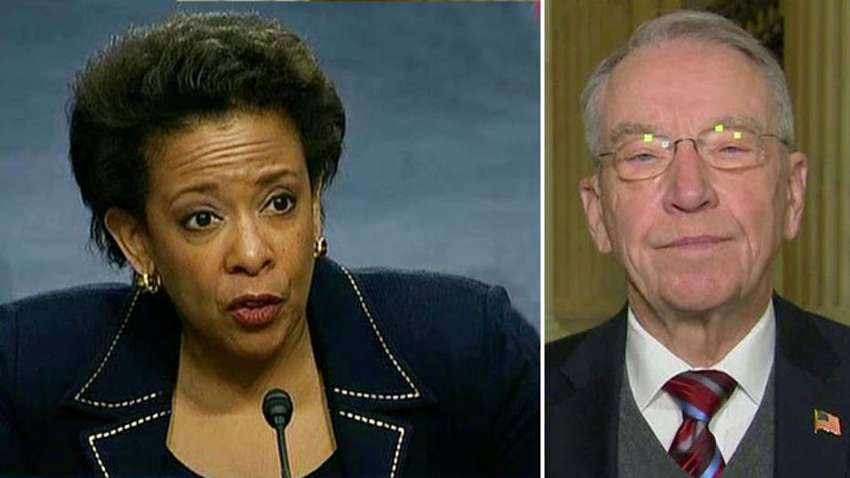 Sen. Grassley: AG nominee 'wrong' on immigration legality