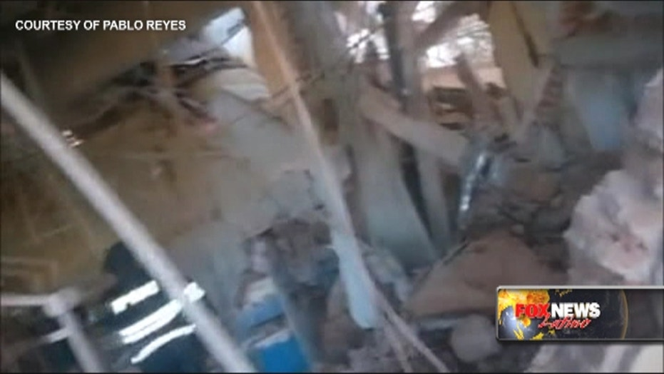 Mexico hospital blast: Dramatic video shows explosion