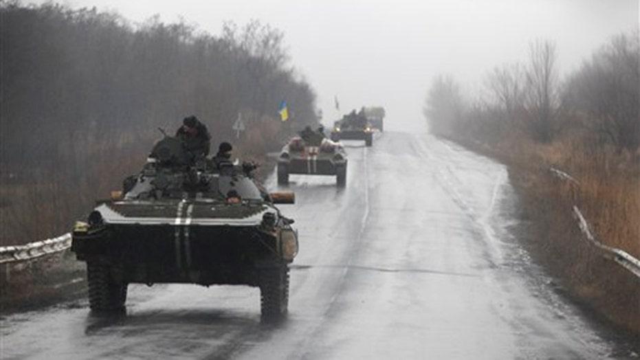 President Obama considers sending weapons to Ukraine