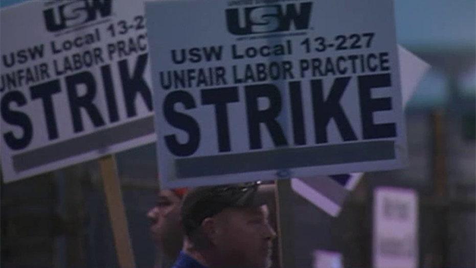 United Steelworkers strike at nine US refineries