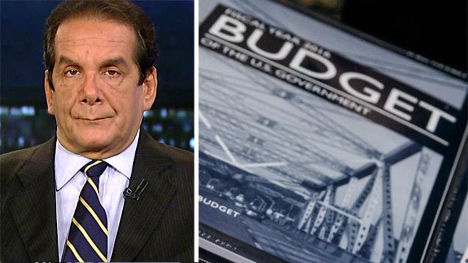 "Krauthammer: Obama budget ""not a real document"""