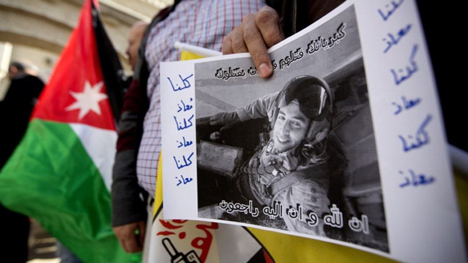 Reaction to murder of Jordanian pilot on streets of Amman