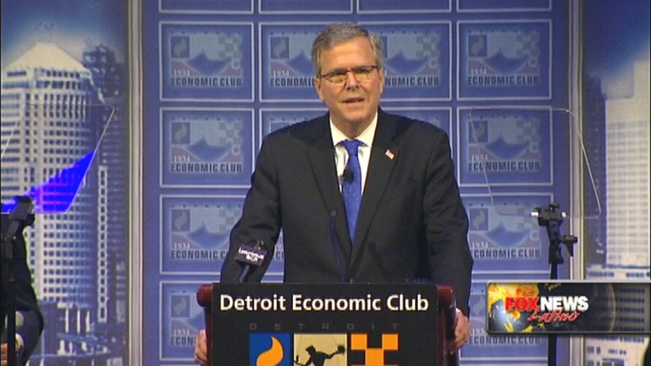 Jeb Bush calls immigration reform a 'huge opportunity'