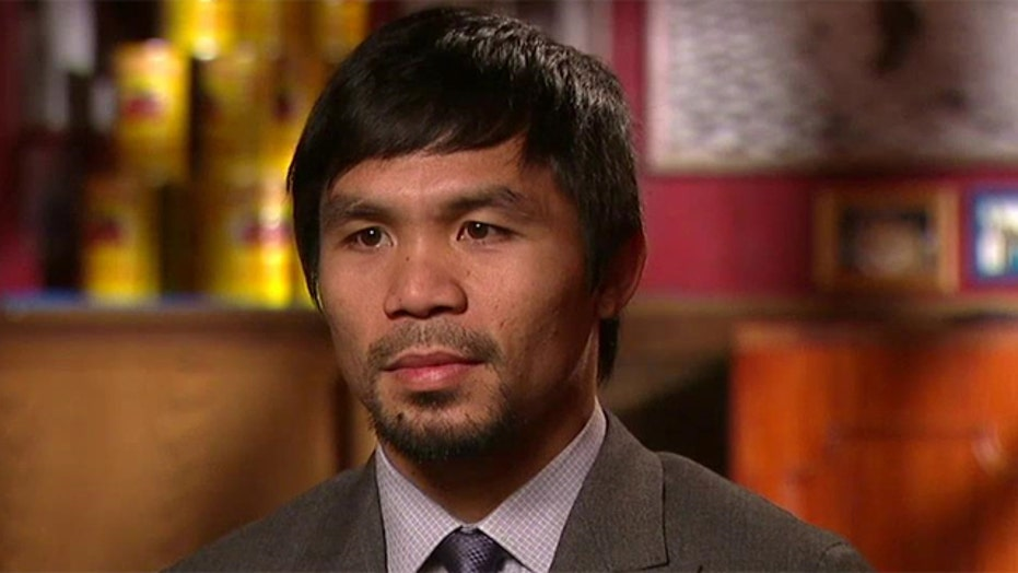 Manny Pacquiao on faith, politics and life in the ring