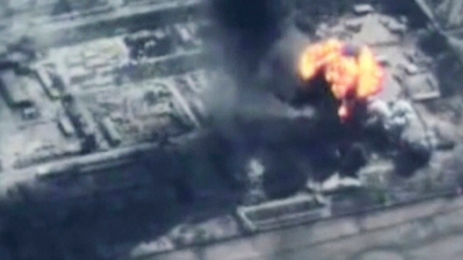 New coalition air strikes pound ISIS in Syria and Iraq