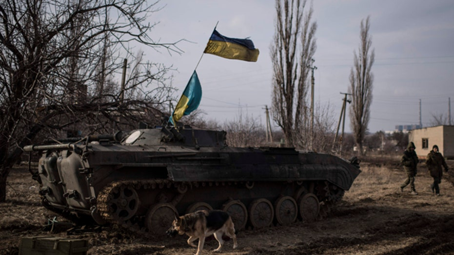 Fighting rages in eastern Ukraine amid diplomatic efforts